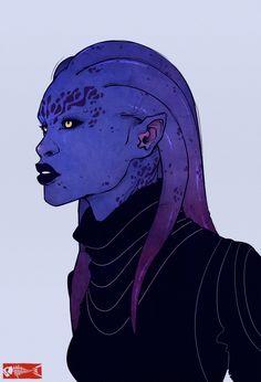 alien head concept 2_The-Brade by Zarnala