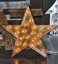 Metal Star Marquee Sign | Home Decor | Top Line Nashville Functional Art | Scoutmob Shoppe | Product Detail