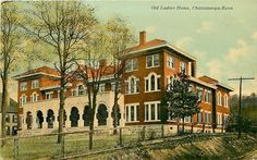 Tennessee, TN, Chattanooga, Old Ladies Home Early Postcard