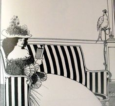 Aubrey Beardsley - Illustration - Art Nouveau Victorian Illustration, Illustration Art, Art Nouveau, Japanese Woodcut, Edward Burne Jones, Christina Rossetti, Aubrey Beardsley, Pre Raphaelite, Black And White Illustration