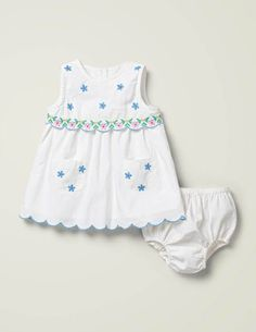NEW B/'Gosh Baby Girls Pretty Batik Print Loose Fit Frilled Hem Sleeveless Dress