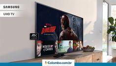 Com a Ultra HD TV LED Samsung de 60 polegadas, suas noites de filme nunca mais serão as mesmas! Clique e confira  https://www.colombo.com.br/produto/Som-e-Video/Ultra-HD-TV-LED-Samsung-60-4K-3-HDMI-2-USB-Wi-Fi-UN60KU6000