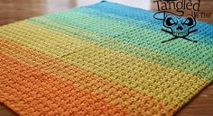 This baby blanket pattern works up super fast and easy and the texture is unbelievable beautiful,