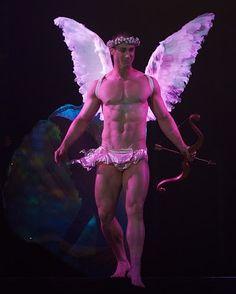 Costumed Hunk Angel!