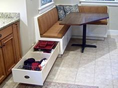 Corner Banquette and Table traditional kitchen products