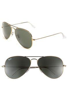 Ray-Ban+'Original+Aviator'+58mm+Sunglasses+available+at+#Nordstrom