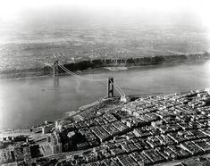 The Port Authority of New York and New Jersey celebrates the anniversary of the October 1931 opening of the George Washington Bridge. Port Washington, Washington Heights, George Washington Bridge, Fort Lee, Hudson River, New Jersey, New York City, City Photo, Nyc