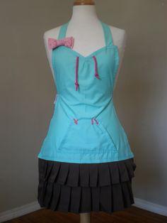Vanellope Von Schweetz Wreck it Ralph cosplay costume inspired apron. $85.00, via Etsy.