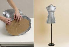 Perfektný nápad, ako si vyrobiť figurínu s vašou veľkosťou. Ideálne, ak sa chcete naučiť šiť a vyrobiť si šaty presne na seba.