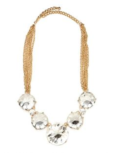Ice Bauble Bib. This completely affordable stunner will look perfect with your holiday ensemble.