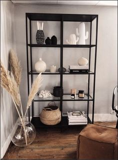 116+ simple but smart shelves decorations for living room storage ideas - page 1