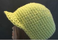 Crochet Geek - Free Instructions and Patterns: Chunky Yarn Crochet Beanie Cap