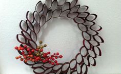 DIY Upcycled Fall Wreaths