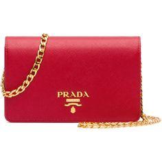8342d582e0e5 Prada Saffiano Lux Crossbody Bag ( 1