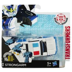 Strongarm - One Step Changer - Transformers Robots In Disguise - Hasbro