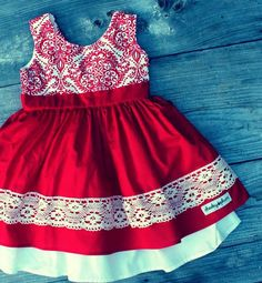 Red dress 2t duck