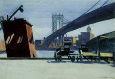 Manhattan Bridge - Edward Hopper