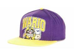 Nintendo WARIO Nin Arch Snapback Cap Hats