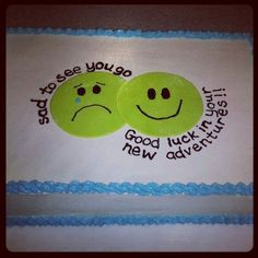 Going away cake by Bake My Day   Bake My Day   Pinterest