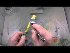 Golden Crawfish - http://crazylureart.com/member-mastering-lure-painting/archives/craw/golden-crawfish/