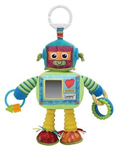 Get pest price from Amazon for Lamaze Rusty the Robot Soft Toy