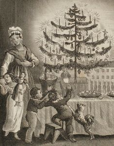 1860s christmas tree - Google Search