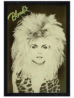 Debbie Harry - big hair and animal print (1983)