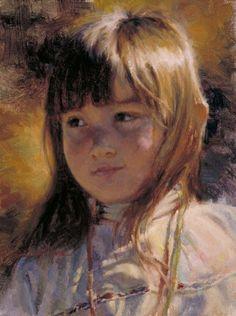 """A Gentle Breeze"" by Scott Myers - model Bailey Clay, age 4"