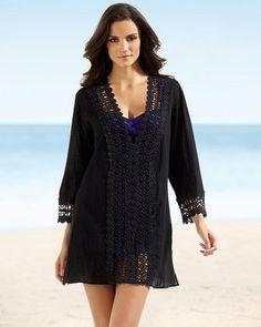 808f85b571 Soma Intimates La Blanca Crochet Edge Tunic Swim Cover Up #somaintimates  Growing Up Girl,