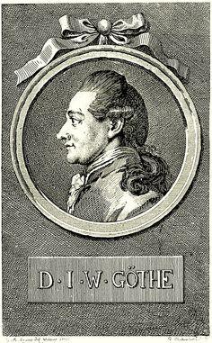 Chodowiecki, Portrait von Johann Wolfgang Goethe (1776).