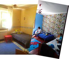 ¡Dale un NUEVO AIRE a la habitación de tus hijos! No te pierdas la transformación de esta habitación de infantil a juvenil con pintura y papel pintado. Con la colaboración de Xylazel y Papel Pintado Saint Honoré. Toda la transformación en http://www.pyma.com/tutoriales-y-trucos/general/proyecto-marvel-transformacion-de-habitacion-con-papel-pintado/