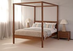 Orchid | Four Poster Bed