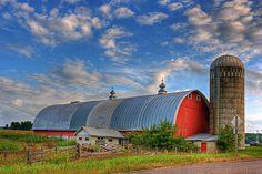 Wisconsin Farm jigsaw puzzle