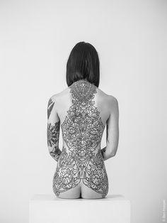 "benhopper: ""2nd photo of tattooer / artist Hannah Pixie Snowdon """