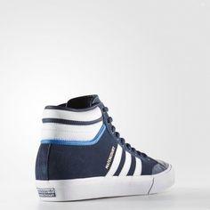 adidas Men's Matchcourt High RX2 Conavy/Ftwwht/Blubir Skate Shoe 9.5 Men US
