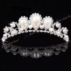 tiara arranjo coroa para cabelo de noiva debutante daminhas