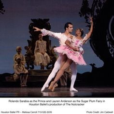 Nutcracker Ballet, Sarabia & Anderson, Houston, 2006