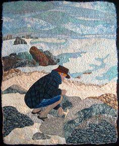 Solitude, quilt by Wendy Butler Berns