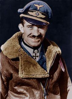 "Adolf ""Dolfo"" Joseph Ferdinand Galland March 1912 – 9 February was a German Luftwaffe General and flying ace who served throughout World War II Luftwaffe, Adolf Galland, Germany Ww2, Flying Ace, Man Of War, Battle Of Britain, Fighter Pilot, German Army, Military History"