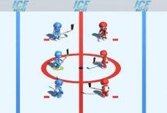 Juega al hockey en un juego simulado a la Liga Estadounidense de Hockey sobre hielo. En este juego tu equipo es de color azul y debes ganar a tus oponentes de color rojo para ganar la copa Calder. Muévete con los mejores jugadores de hockey sobre hielo en un apasionado juego de partidos de Hockey. Usa los stick para golpear el puck o como otros lo conocen como pastilla de hockey. Puedes planear nuevas jugadas y puede que ganes la liga de Hockey sobre el hielo.