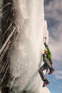 sporty ekstremalne - wspinanie na lodowcu