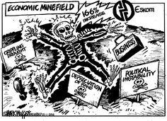 Mark Wiggett on Eskom's proposed 16% fee hike. Herald Port Elizabeth
