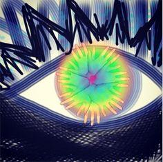 Good Eye, Original 8X8 inch Digital Art Print