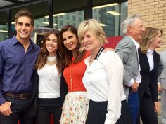 Mary Beth Evans,  Kristian Alfonso,  Kate Mansi and Galen Gering at #WalkofFame for Deidre Hall