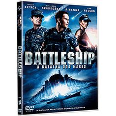 DVD - Battleship - A Batalha dos Mares