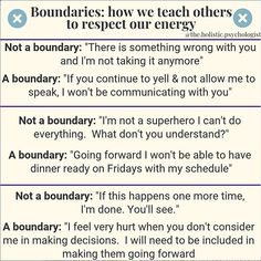 These quotes about boundaries will do more than just help you set and honor your boundaries. They will help you understand why setting boundaries can feel uncomfortable and why we have to set them anyway. Boundaries Quotes, Personal Boundaries, Trauma, Affirmations, Setting Boundaries, Mental And Emotional Health, Psychology Quotes, Personality Psychology, Spiritual Psychology