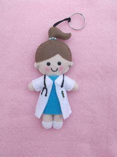 chaveiro médica personalizado - encomendas pela minha página no facebook - https://www.facebook.com/Boutiquegeekbg/