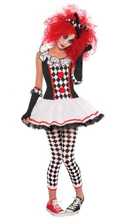 Harlequin Honey Halloween Costume