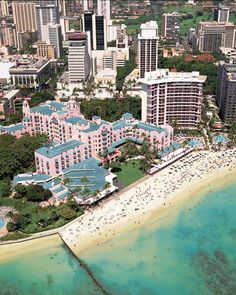 "Best Beach Hotels: ""This hotel, which is known as the 'pink palace,' has a special place in my heart. There's something about its storied history and the way it's been preserved over the years that just feels incredibly unique — not to mention its prime location on the shores of Waikiki in Honolulu."