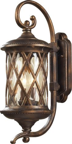View the Elk Lighting 42031/2 Barrington Gate 2 Light Outdoor Wall Sconce at LightingDirect.com.